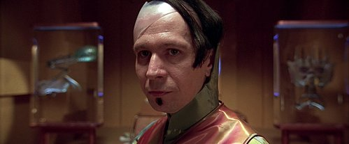 What does Zorg tell Professor Cornelius that life comes from?