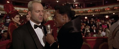 """What is Korben's response when Ruby Rhod asks him to give the """"word of the day""""?"""