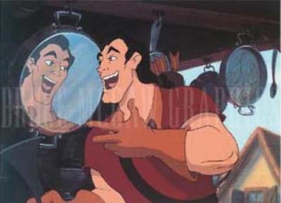 "What has Gaston been doing that LeFou calls a ""dangerous pasttime""?"