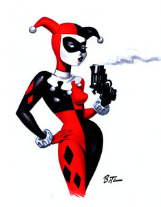 What Color Is Harley Quinn's Hair?