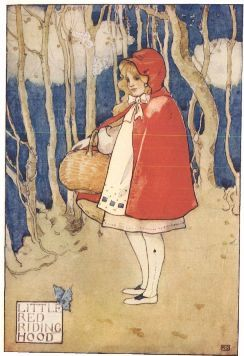 When Little Red Riding-Hood first appeared in English, she was given a more conventional name to go along with her famous nickname. What was it?