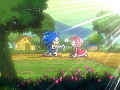 did sonic ever like amy