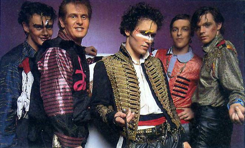 Which year Did Adam Ant turn into Prince Charming?
