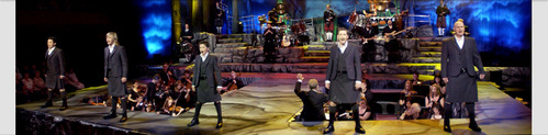 Who is the only member of Celtic Thunder that isn't from Ireland?
