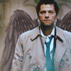 """Dean says to Castiel: """"What vessel are bạn in now? Holy __________?"""""""