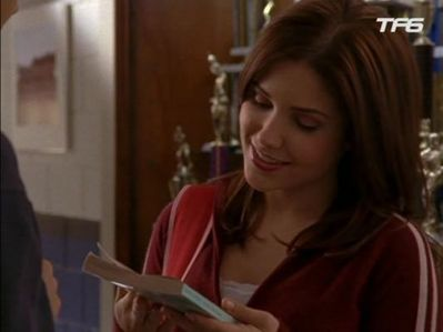 Brooke: All finished. Now it's my turn. Lucas: Hey, hey, hey. Not so fast. Did you like it? Brooke: Did I like it or did I ____ it?