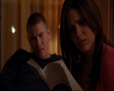 Brooke : Nobody is going to believe this coming from me. Lucas : _________.