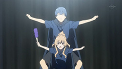 What did Ryuuji and Taiga alisema when they did this?