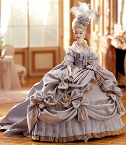 How many dolls exist in the worldwide of barbie platinum label dolls