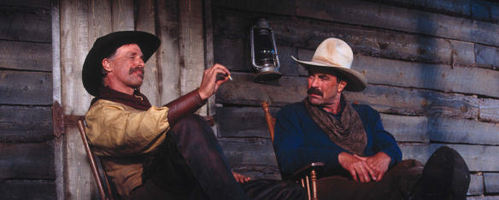 WESTERN films : Starring Tom Selleck, Isabella Rosselini. Directed door Simon Wincer ?