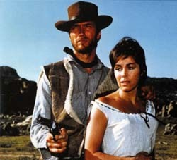 WESTERN MOVIE : Starring Clint Eastwood, Marianne Koch, Gian Maria Volonte. Directed bởi Sergio Leone ?