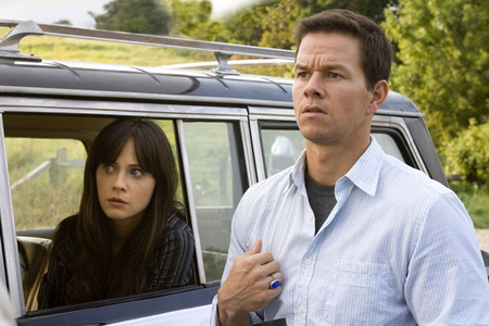 SCIENCE-FICTION MOVIES : Starring 	Mark Wahlberg, Zooey Deschanel, John Leguizamo. Directed by M. Night Shyamalan ?