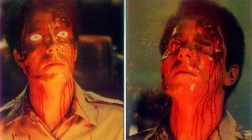 SCIENCE-FICTION sinema : Starring Stephen Lack, Jennifer O'Neill, Patrick McGoohan. Directed kwa David Cronenberg ?