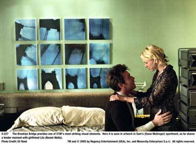 THRILLER MOVIES : Starring Ewan McGregor, Naomi Watts. Directed by Marc Forster ?