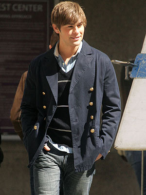 Did Chace Crawford work as a model?