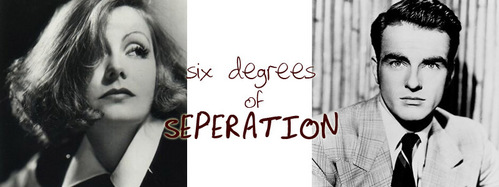 SIX DEGREES OF SEPARATION: Which movie does NOT connect Greta Garbo and Montgomery Clift in three moves?