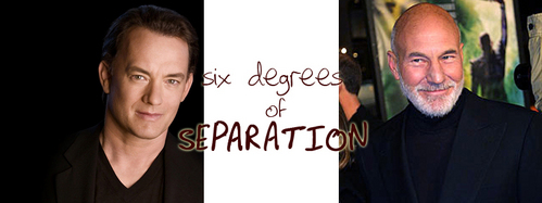SIX DEGREES OF SEPARATION: What movie does NOT connect Tom Hanks and Patrick Stewart in three moves?