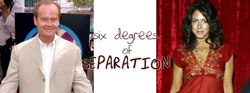 SIX DEGREES OF SEPARATION: What télévision montrer does NOT connect Kelsey Grammer and Joely Fisher in three moves?