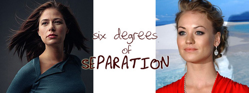 SIX DEGREES OF SEPARATION: What televisheni onyesha does NOT connect Maura Tierney and Yvonne Strahovski in three moves?