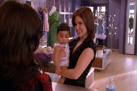 Millie: Really? Brooke: Really. under control. But, first tell me something. How cute do I look with this baby? ...