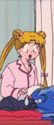 Who was making mess in Senshi's houses when they were suffering from mysterious illness?