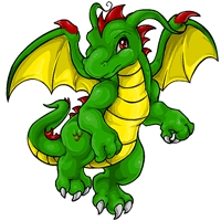 Which online game is this dragon from?