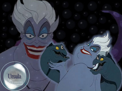 "In Ursula's song ""Poor Unfortunate Souls"" what do those poor unfortunate souls come flocking to?"