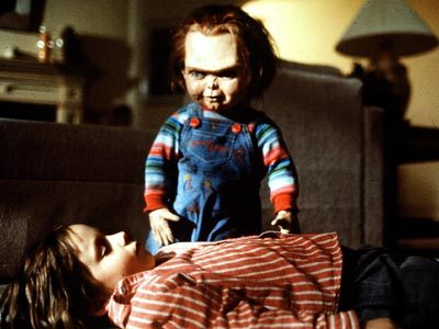 When did Chucky die in his first life?