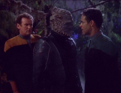 NAME THE EPISODE: Bashir and O'Brien are captured kwa a group of Jem'Hadar who leader is actually free of their race's genetic addiction to Ketracel-white.