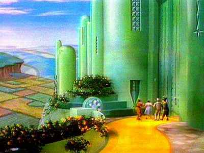 What is the name of the city that Dorothy and her friends are walking to?