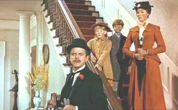 What does Mary Poppins tell Mr. Banks she NEVER does?