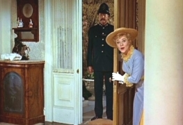 GIVE THE MOVIE RESPONSE! Mrs. Banks: The policeman's here, George!