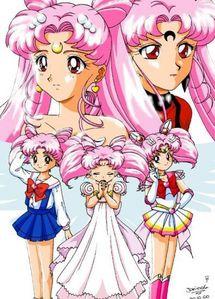 Chibiusa has a sister, whose name is Kousagi. Yes atau no?