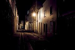 &#34;I was crawling across the dark, cold stones of an unfamiliar street.&#34;