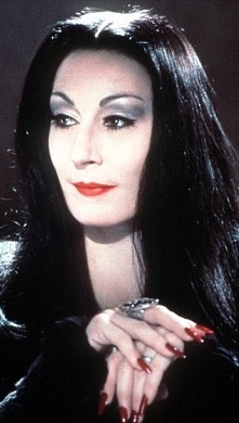 Who played Morticia in The Addams Family movie?
