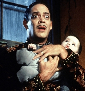 Who played Gomez in The Addams Family movie?