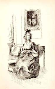 FROM THE BOOK: Who is this illustration depicting?
