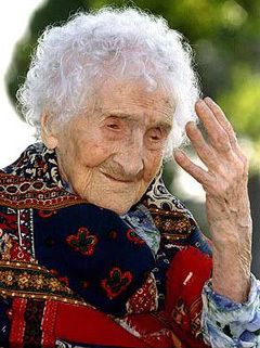 Jeanne Calment is the world's oldest recorded person. When she died she had ?