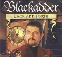 Which playwright did Colin portray in the 1999 film 'Blackadder Back & Forth'?