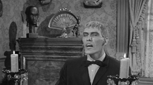 Besides the harpsicord, what other instrument was Lurch the butler fond of playing?