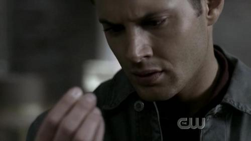 """No exit"" when the boys come across the black gooey stuff in the apartment, what monster does Dean jokingly say they are dealing with?"