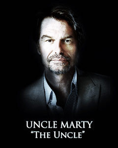 Which of the following people said that Uncle Marty was not a Hero?