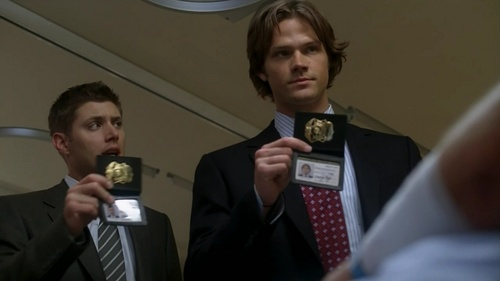 """""""Bedtime stories"""" When Sam and Dean came to acero Springs to investigate a murder, how did they introduce themselves?"""