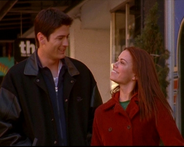 Nathan: No. I wasn't serious. I wouldn't put Ты through that. Haley: No, I mean, if you're asking, of course, my answer is yes. Nathan: ...