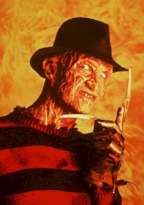 What is Freddy Krueger's middle name from a Nightmare on Elm Street?