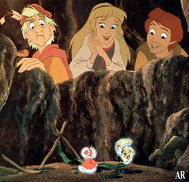 The Black Cauldron is the ____ animated feature in the Disney animated features canon ?