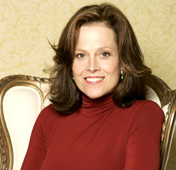 Which character is not played by Sigourney Weaver ?