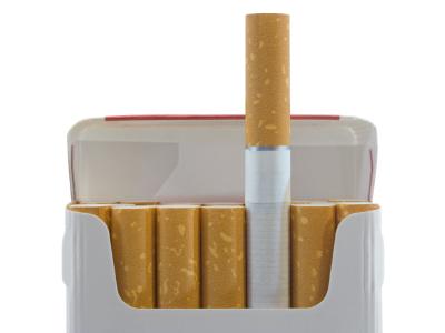 In Season 2, Episode Doppelgänger, what brand of cigarettes did the killer smoke?
