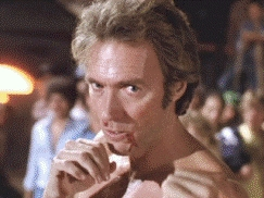 NAME IT: In 'Every Which Way But Loose' and its sequel 'Any Which Way 你 Can,' Clint plays a bare-knuckle fighter with an unusual name. What is it?