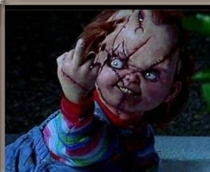 Who is the voice of Chucky from the Childs Play Movies?